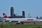 Take51さんが、成田国際空港で撮影したスイスインターナショナルエアラインズ A340-313Xの航空フォト(写真)