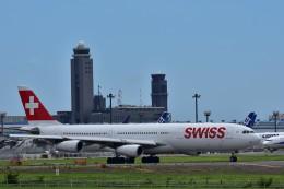 Take51さんが、成田国際空港で撮影したスイスインターナショナルエアラインズ A340-313Xの航空フォト(飛行機 写真・画像)