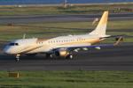 キイロイトリさんが、関西国際空港で撮影したMGMミラージュ ERJ-190-100 ECJ (Lineage 1000)の航空フォト(写真)