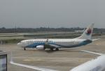 TAOTAOさんが、南京禄口国際空港で撮影した東海航空 737-86Jの航空フォト(写真)