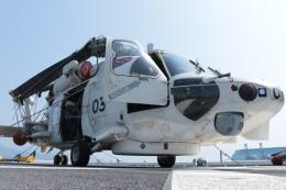 ゆずポン酢さんが、清水港で撮影した海上自衛隊 SH-60Kの航空フォト(飛行機 写真・画像)
