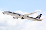 幹ポタさんが、関西国際空港で撮影したシンガポール航空 787-10の航空フォト(写真)