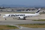 幹ポタさんが、関西国際空港で撮影したフィンエアー A350-941XWBの航空フォト(写真)
