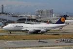 幹ポタさんが、関西国際空港で撮影したルフトハンザドイツ航空 747-430の航空フォト(写真)