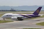 幹ポタさんが、関西国際空港で撮影したタイ国際航空 A380-841の航空フォト(写真)