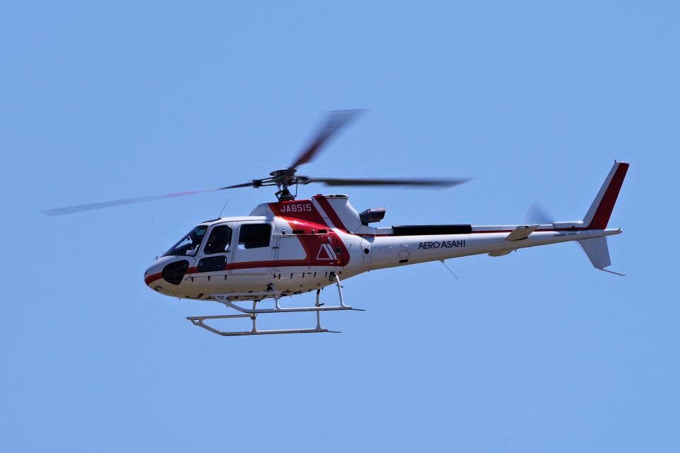 yabyanさんの朝日航洋 Airbus Helicopters H125 (JA6515) 航空フォト