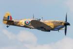 Tomo-Papaさんが、フェアフォード空軍基地で撮影したイギリス空軍 361 Spitfire LF9Eの航空フォト(写真)