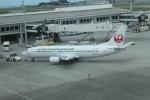 職業旅人さんが、那覇空港で撮影した日本トランスオーシャン航空 737-446の航空フォト(写真)