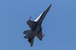 チャッピー・シミズさんが、フェアフォード空軍基地で撮影したフィンランド空軍 F/A-18C Hornetの航空フォト(写真)