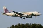 ウッディーさんが、福岡空港で撮影した香港エクスプレス A320-232の航空フォト(写真)
