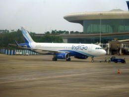 まいけるさんが、チャトラパティー・シヴァージー国際空港で撮影したインディゴ A320-232の航空フォト(飛行機 写真・画像)