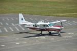 むねくんさんが、鳥取空港で撮影したアジア航測 208 Caravan Iの航空フォト(写真)