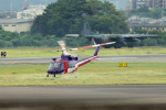 yabyanさんが、名古屋飛行場で撮影した岐阜県防災航空隊 412EPの航空フォト(飛行機 写真・画像)