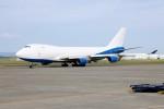 北の熊さんが、新千歳空港で撮影したドバイ・ロイヤル・エア・ウィング 747-412F/SCDの航空フォト(写真)