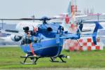 パンダさんが、成田国際空港で撮影した千葉県警察 BK117C-2の航空フォト(飛行機 写真・画像)