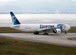 Crosswindさんが、関西国際空港で撮影したエジプト航空 777-36N/ERの航空フォト(写真)