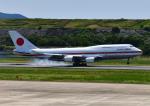じーく。さんが、長崎空港で撮影した航空自衛隊 747-47Cの航空フォト(写真)