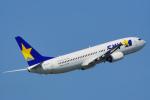 ちゃぽんさんが、茨城空港で撮影したスカイマーク 737-8HXの航空フォト(写真)