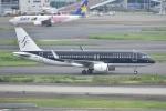 よしポンさんが、羽田空港で撮影したスターフライヤー A320-214の航空フォト(写真)