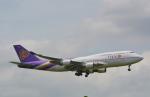 toyoquitoさんが、スワンナプーム国際空港で撮影したタイ国際航空 747-4D7の航空フォト(写真)