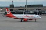 k-spotterさんが、チューリッヒ空港で撮影したエア・ベルリン A319-112の航空フォト(写真)