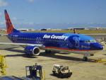 tmkさんが、ダニエル・K・イノウエ国際空港で撮影したサンカントリー・エアラインズ 737-8FHの航空フォト(写真)