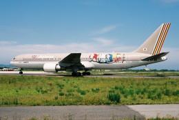 よんまるさんが、米子空港で撮影したアシアナ航空 767-38Eの航空フォト(写真)