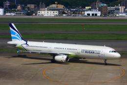 きったんさんが、福岡空港で撮影したエアプサン A321-231の航空フォト(写真)