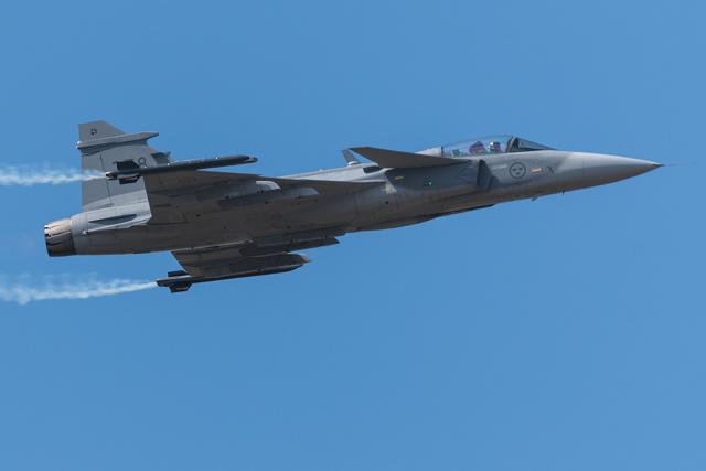2018年07月14日に撮影されたスウェーデン空軍の航空機写真