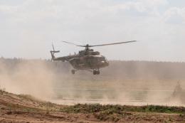 はやたいさんが、クベンカ空軍基地で撮影したロシア空軍 Mi-8MTVの航空フォト(飛行機 写真・画像)