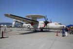 MRJさんが、岩国空港で撮影したアメリカ海軍 E-2D Advanced Hawkeyeの航空フォト(写真)