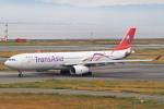 セブンさんが、関西国際空港で撮影したトランスアジア航空 A330-343Xの航空フォト(飛行機 写真・画像)