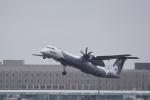 ひこ☆さんが、新千歳空港で撮影したオーロラ DHC-8-402Q Dash 8の航空フォト(写真)