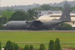 PASSENGERさんが、スルタン・アブドゥル・アジズ・シャー空港で撮影したマレーシア空軍 C-130H Herculesの航空フォト(写真)