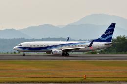 miffyさんが、広島空港で撮影したニュージェン・エアウェイズ 737-8Q8の航空フォト(写真)