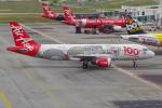 PASSENGERさんが、クアラルンプール国際空港で撮影したエアアジア A320-216の航空フォト(写真)
