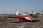 出戻りさんが、静浜飛行場で撮影した航空自衛隊 T-3の航空フォト(写真)