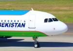 タミーさんが、中部国際空港で撮影したウズベキスタン航空 A320-214の航空フォト(写真)