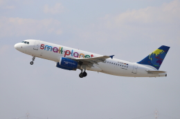 航空フォト:D-ASPE スモール・プラネット・エアラインズ・ジャーマニー A320