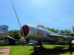 戦争記念館で撮影された戦争記念館の航空機写真
