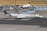 sumihan_2010さんが、フランクフルト国際空港で撮影したルフトハンザ・シティライン CL-600-2D24 Regional Jet CRJ-900LRの航空フォト(写真)