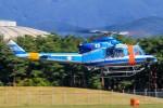 アミーゴさんが、松本空港で撮影した岐阜県警察 412EPの航空フォト(写真)