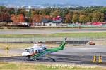 アミーゴさんが、松本空港で撮影した群馬県防災航空隊 412EPの航空フォト(写真)