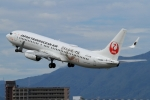 ウッディーさんが、福岡空港で撮影した日本トランスオーシャン航空 737-8Q3の航空フォト(写真)