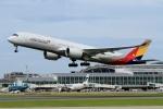 ウッディーさんが、福岡空港で撮影したアシアナ航空 A350-941XWBの航空フォト(写真)