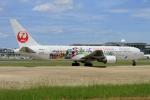 ウッディーさんが、福岡空港で撮影した日本航空 767-346/ERの航空フォト(写真)
