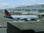 ヒロリンさんが、ブリュッセル国際空港で撮影したブリュッセル航空 A320-214の航空フォト(写真)