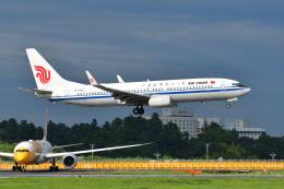 ポン太さんが、成田国際空港で撮影した中国国際航空 737-89Lの航空フォト(写真)
