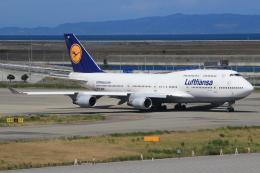 航空フォト:D-ABVP ルフトハンザドイツ航空 747-400
