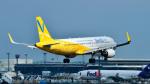パンダさんが、成田国際空港で撮影したバニラエア A320-214の航空フォト(飛行機 写真・画像)